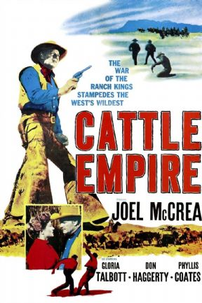 Cattle Empire 1958 DVD - Joel McCrea / Gloria Talbott